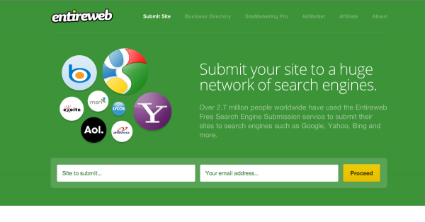 Submit your web to search engine around the world