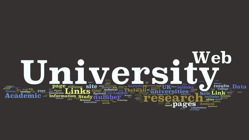 webometric university web rank cloud